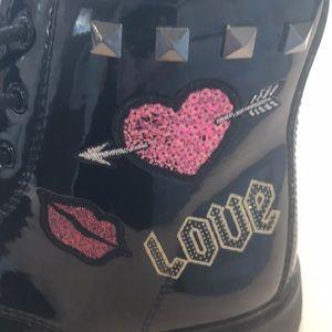 Children's Place black boots